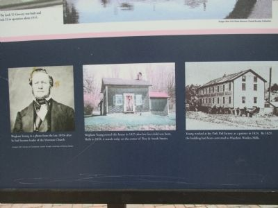 Brigham Young Pictures on Marker image. Click for full size.