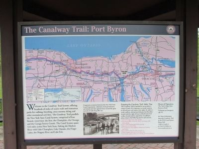 Canalway Trail Panel image. Click for full size.