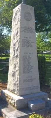 Metcalfe County War Memorial Marker image. Click for full size.