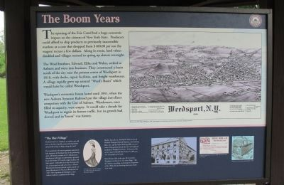The Boom Years Marker image. Click for full size.