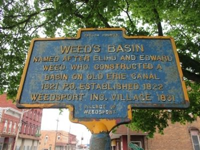Weed's Basin Marker image. Click for full size.