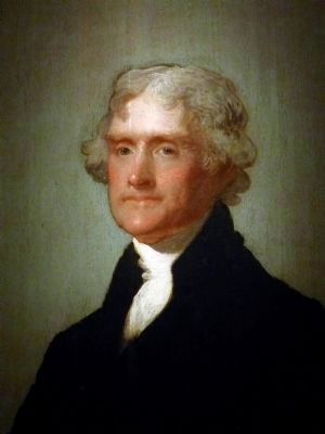 Thomas Jefferson image. Click for full size.