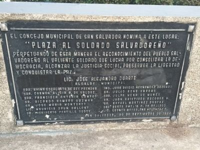 Additional markers on monument image. Click for full size.