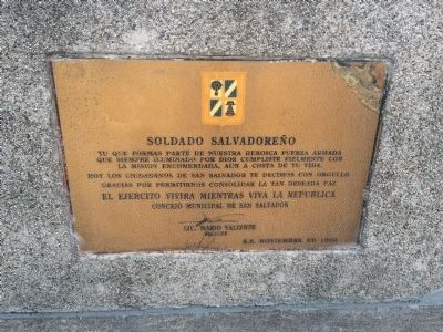 Additional marker on monument image. Click for full size.