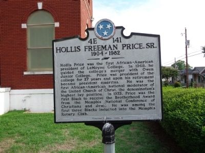 Hollis Freeman Price, Sr. Marker image. Click for full size.