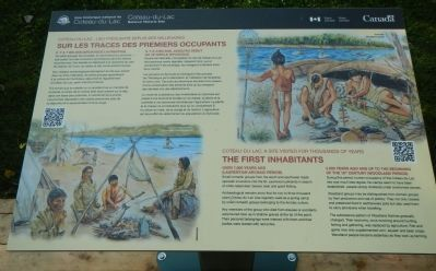 The First Inhabitants Marker image. Click for full size.