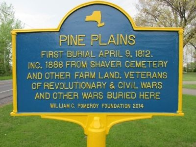 Pine Plains Marker image. Click for full size.