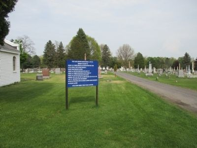 Pine Plains Cemetery image. Click for full size.