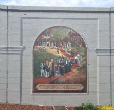 La Fayette's Visit to Maysville Mural image. Click for full size.