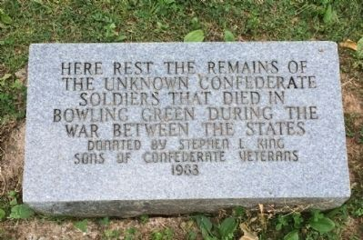 Unknown Confederates Marker image. Click for full size.