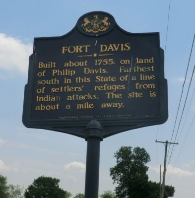 Fort Davis Marker image. Click for full size.