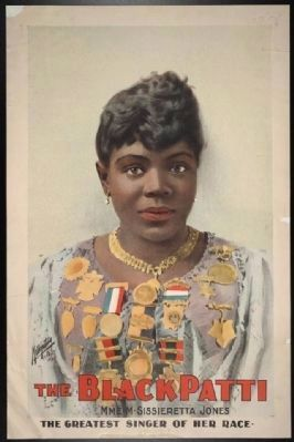The Black Patti, Mme. M. Sissieretta Jones: The Greatest Singer of Her Race. image. Click for full size.