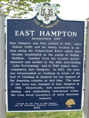 East Hampton Marker image. Click for full size.