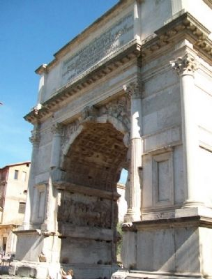 Arch of Titus / Arco di Tito West Facade image. Click for full size.