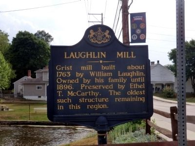 Laughlin Mill Marker image. Click for full size.