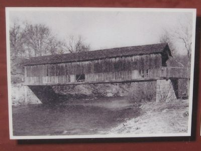 Comstock Covered Bridge Marker image. Click for full size.