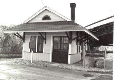 Suffern's Depot image. Click for full size.