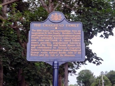 The Craighead Family Marker image. Click for full size.