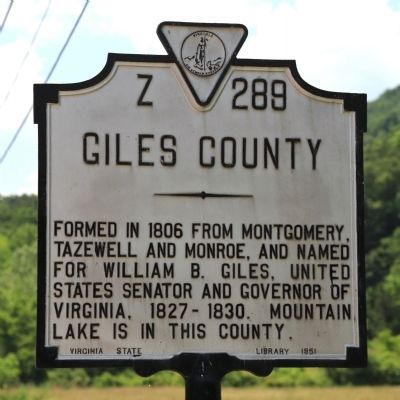 Giles County Face of Marker image. Click for full size.
