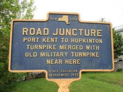 Road Juncture Marker image. Click for full size.