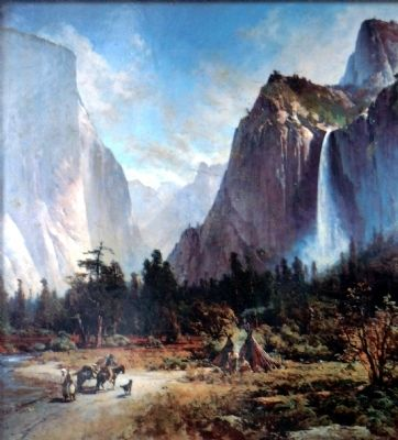 Yosemite Valley<br>(El Captain & Bridalveil Fall) image. Click for full size.