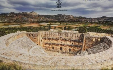 Aspendos Theater image. Click for full size.