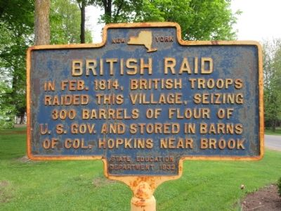 British Raid Marker image. Click for full size.
