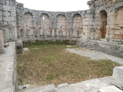 Southern Baths, frigidarium image. Click for full size.