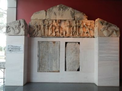 Fountain Pediment recovered from Perge at the Antalya Museum. image. Click for full size.