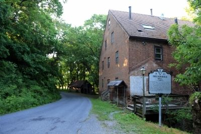 Breckinridge Mill and Marker image. Click for full size.