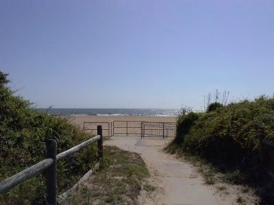 Public access to beach near Atlantic Parkway image. Click for full size.