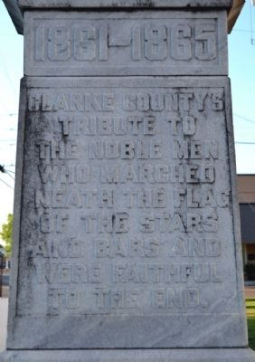 Inscription on Side Face of Monument image. Click for full size.