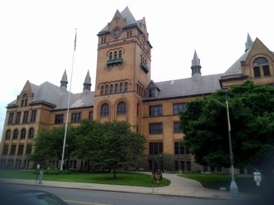 Old Main at Wayne State University image. Click for full size.