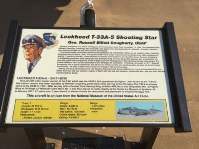 Lockheed T-33A-5 Shooting Star Marker image. Click for full size.