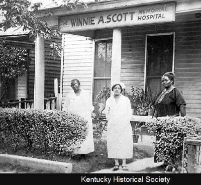 Winnie A. Scott Hospital image. Click for full size.