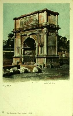 <i>Arco di Tito</i> image. Click for full size.
