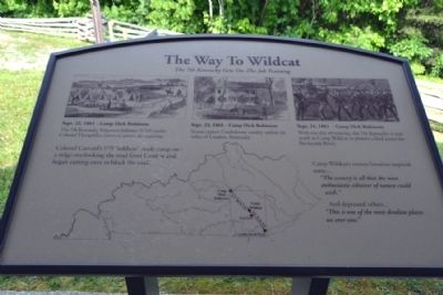 Marker #3 - The Way To Wildcat image. Click for full size.
