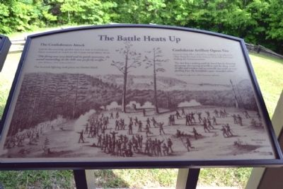 Marker #7 - The Battle Heats Up image. Click for full size.