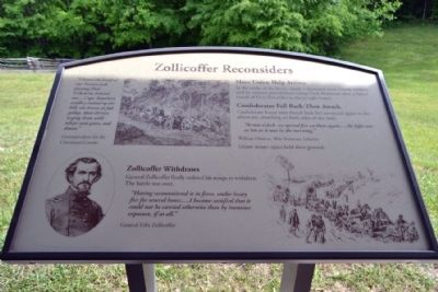 Marker #8 - Zollicoffer Reconsiders image. Click for full size.