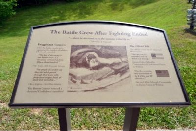 Marker #9 - The Battle Grew After Fighting Ended image. Click for full size.