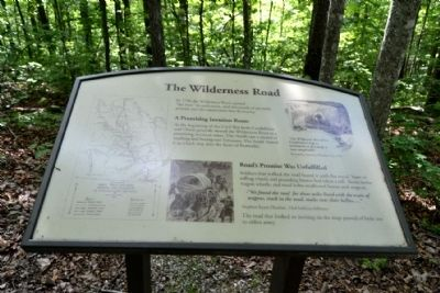 Marker #4 - The Wilderness Road image. Click for full size.