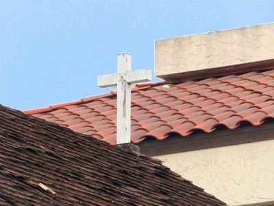 The Cross<br>Atop the Old Abobe Chapel image. Click for full size.