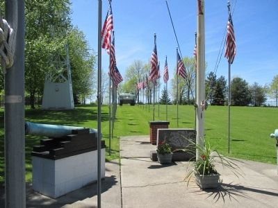Memorial and Walkway image. Click for full size.