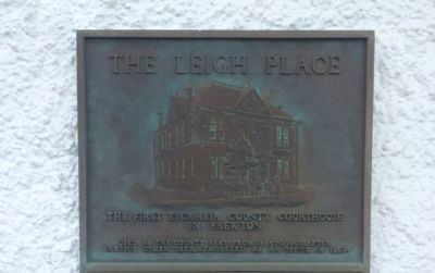 The Leigh Place Marker image. Click for full size.