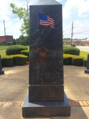 Escambia County Veterans Memorial Marker (North) image. Click for full size.