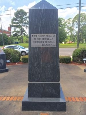 Escambia County Veterans Memorial Marker (East) image. Click for full size.