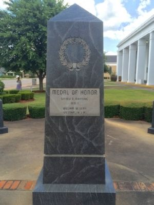 Escambia County Veterans Memorial Marker (South) image. Click for full size.