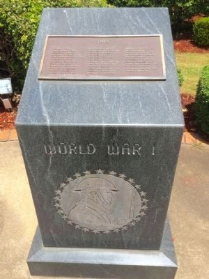 World War I monument image. Click for full size.