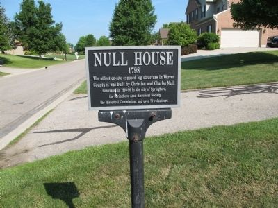 Null House Marker image. Click for full size.