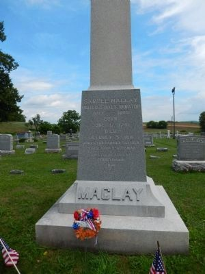 Samuel Maclay Marker image. Click for full size.